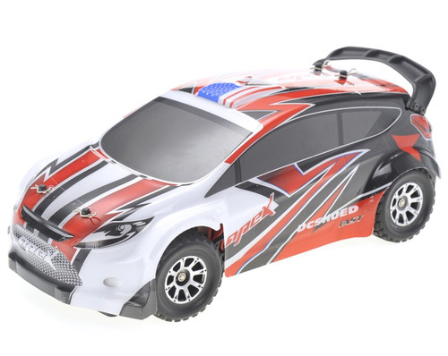 1/18 Vortex Rally RC Car 4WD Electric 2.4GHz Red