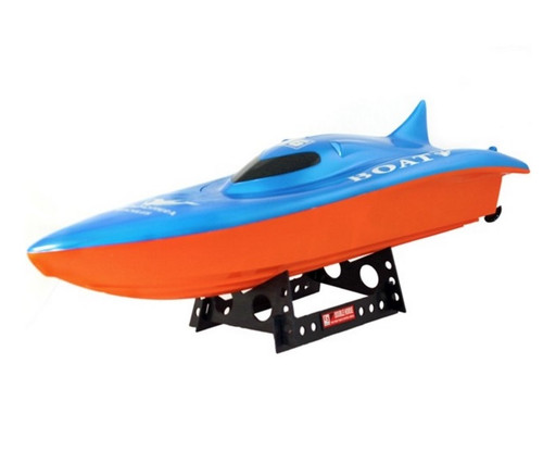 Balaenoptera Musculus RC Racing Boat Electric Dual Engine 2CH Blue