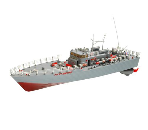 1:25 U.S Torpedo Warship RC Boat 2CH 1:25 Grey