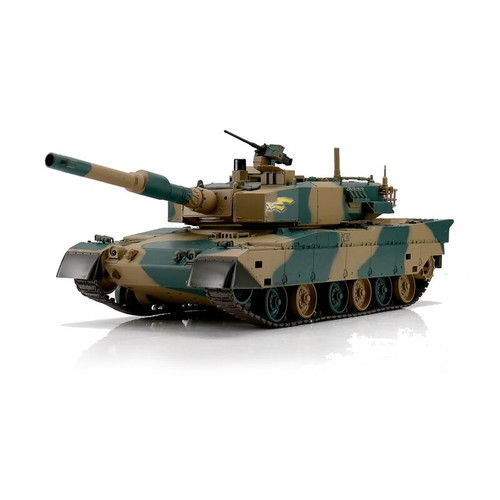 1/24 Japanese Type 90 RC Tank 2.4GHz Airsoft & Infrared