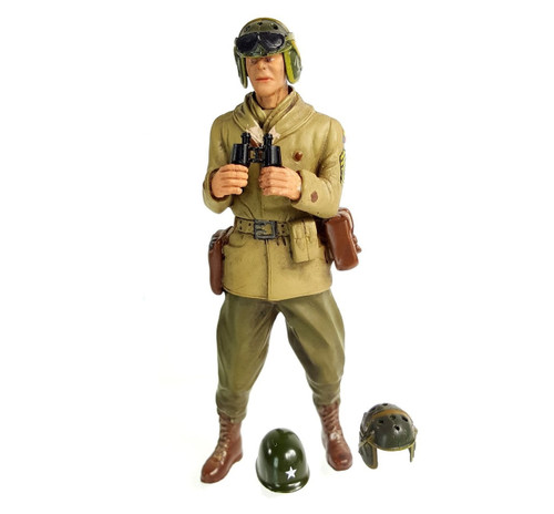 1/16 Scale U.S. 1st. Sergeant A. Ross Figure WWII RC Tank Crew