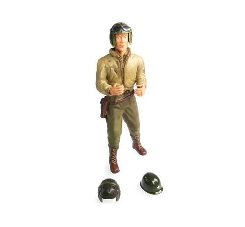1/16 Scale U.S. Corporal E. Stull Figure WWII RC Tank Crew