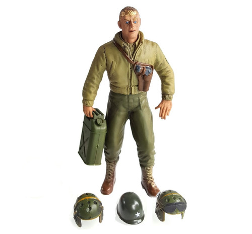 1/16 Scale U.S. Tech 3rd Grade L. Mimms Figure WWII RC Tank Crew