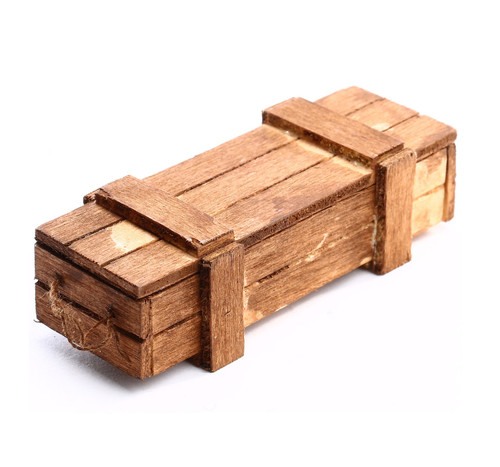 1/16  Torro RC Tank One Wooden Ammo Crate Box