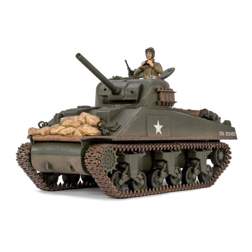 1/24 US Sherman RC Tank Infrared 2.4GHz Forces of Valor