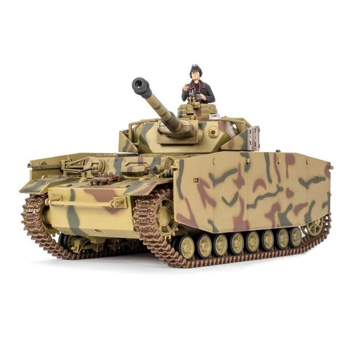1/24 German Panzer IV RC Tank Infrared 2.4GHz Forces of Valor