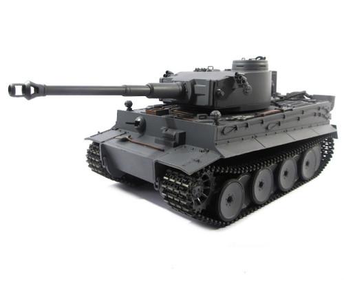 1/16 Mato German Tiger I RC Tank Airsoft 2.4GHz 100% Metal Grey