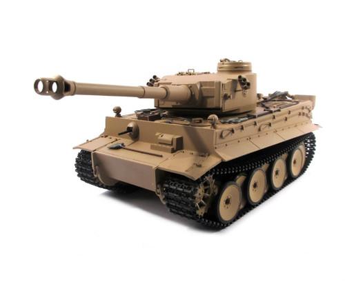 1/16 Mato German Tiger I RC Tank Infrared 2.4GHz 100% Metal Desert