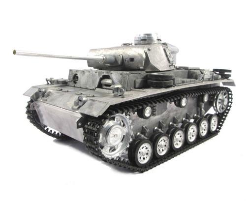 1/16 Mato German Panzer III RC Tank Airsoft 2.4GHz 100% Metal
