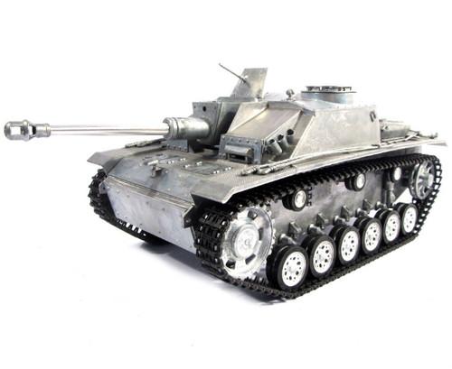 1/16 Mato German Sturmgeschutz III RC Tank Infrared 2.4GHz 100% Metal