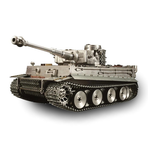 1/6 Large Scale German Tiger I RC Tank Airsoft 2.4GHz 100% Metal