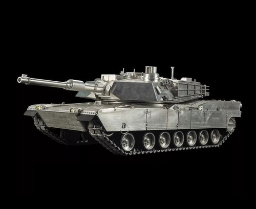 1/8 Large Scale U.S M1A2 Abrams RC Tank Airsoft 2.4GHz 100% Metal