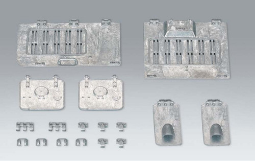 1/16 Torro Panzer IV RC Tank Metal Hatches Hatch Set