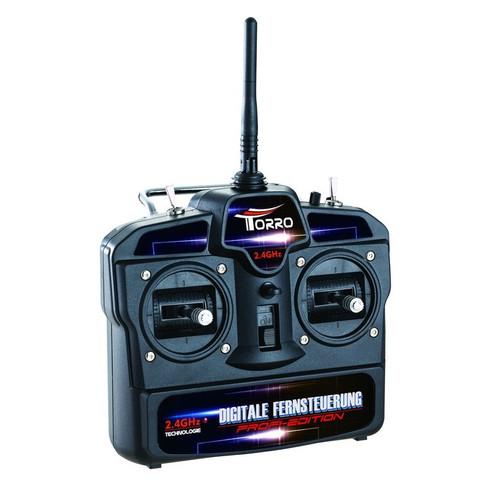 Torro Tiger I RC Tank Remote Control Transmitter Kit 2.4GHz New Generation