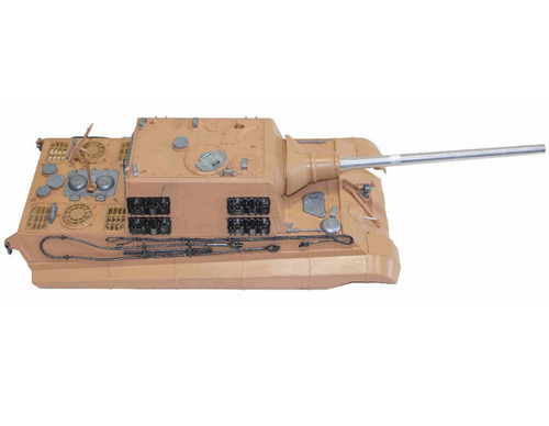 1/16 Torro Jagdtiger RC Tank Upper Hull with Metal Barrel & Hatches Airsoft