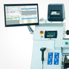 """NEPATA UA1650 ADWS 65"""" Converting Center - Rewinder, Cross Cutter and Slitter with Pneumatic Shaft"""