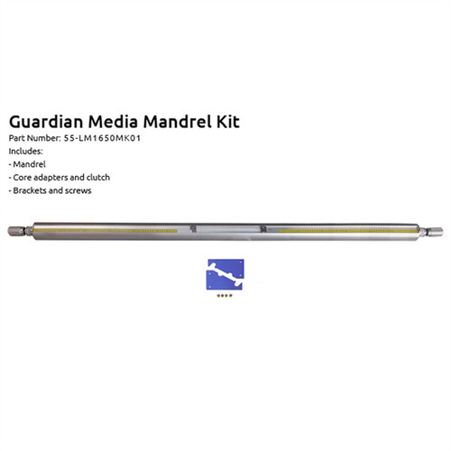 "Guardian 65"" Laminator Media Mandrel Kit"