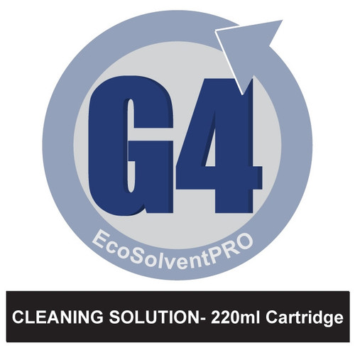 Cleaning Solution - EcoSolventPRO G4 Ink for Roland, 220ml Cartridge. Eco-Sol MAX Compatible.