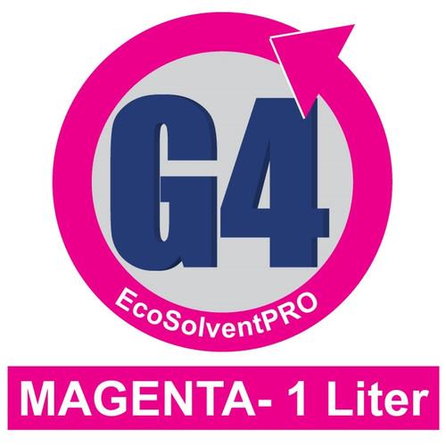 Magenta - 1 Liter Bottle, EcoSolventPRO G4 Ink for Roland. Eco-Sol MAX Compatible.
