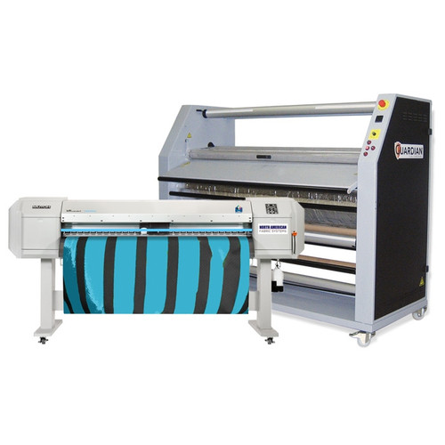 Mutoh 1624WX Dye Sublimation Printer and Calender Bundle