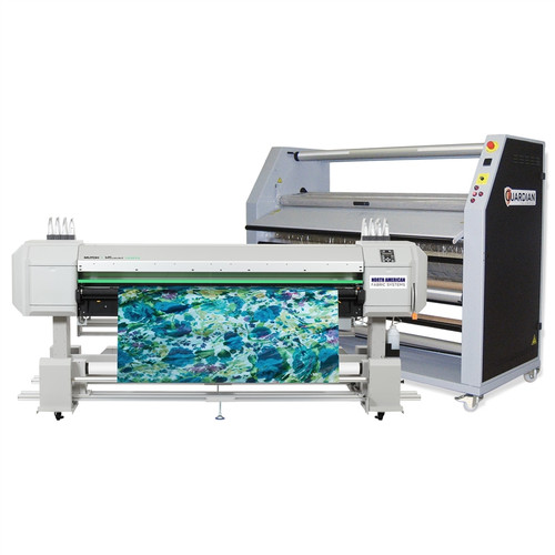 Mutoh VJ1938TX Direct to Fabric Printer and Calender Bundle