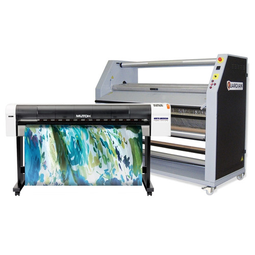 Mutoh RJ900X Dye Sublimation Printer and Calender Bundle