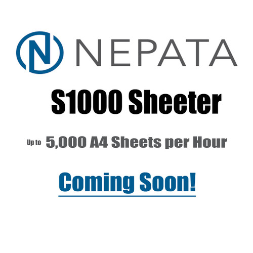 Coming Soon - NEPATA S1000 High Performance Sheeter