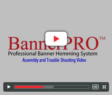 BannerPRO - Assembly and Trouble Shooting Video