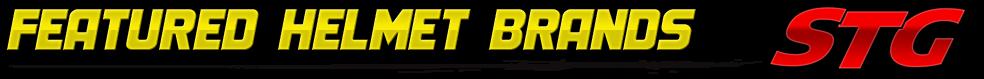 STG Featured Motorcycle Helmet Brands