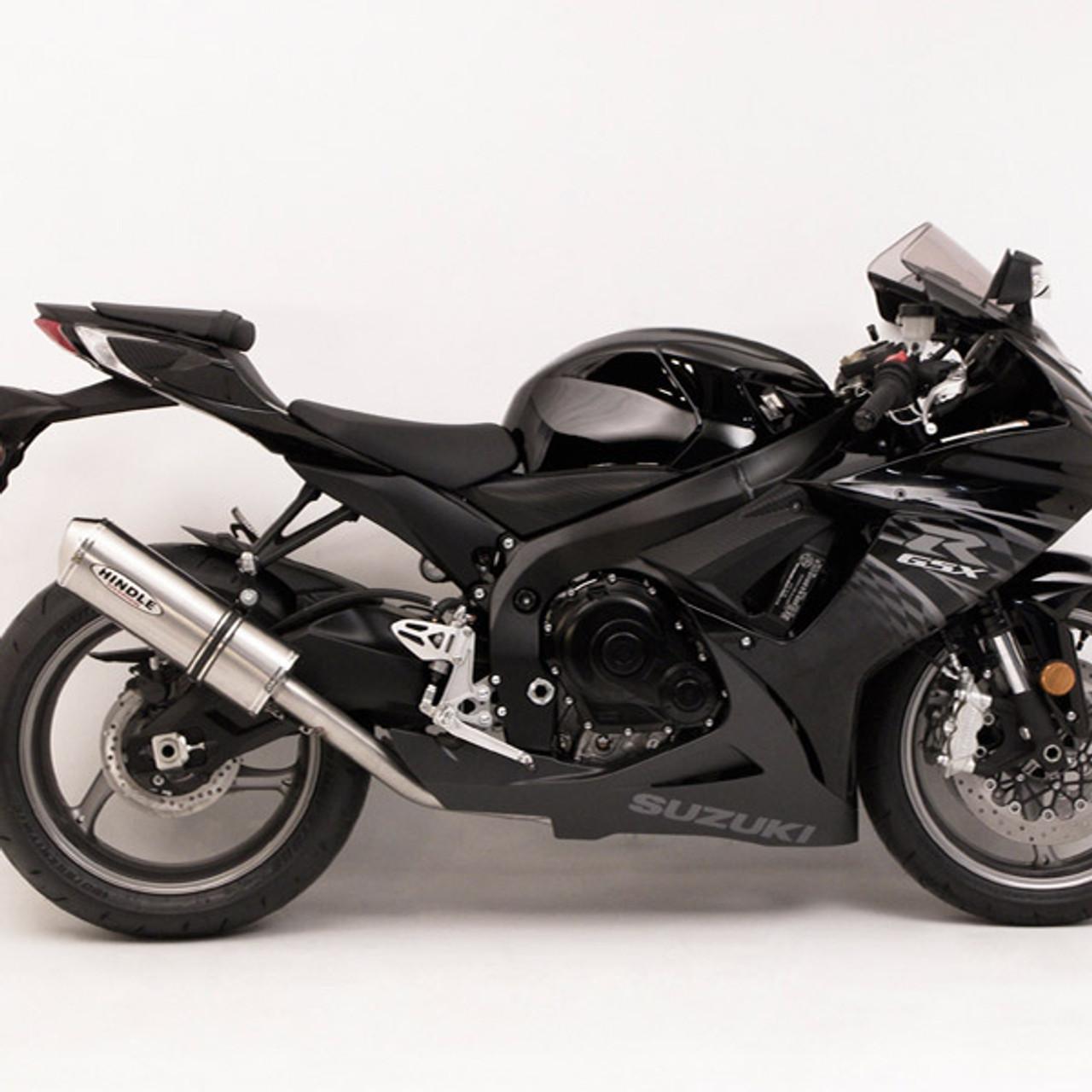 Suzuki Gsxr 750 >> Hindle Evolution Full Exhaust System Suzuki Gsx R600 750 11 19