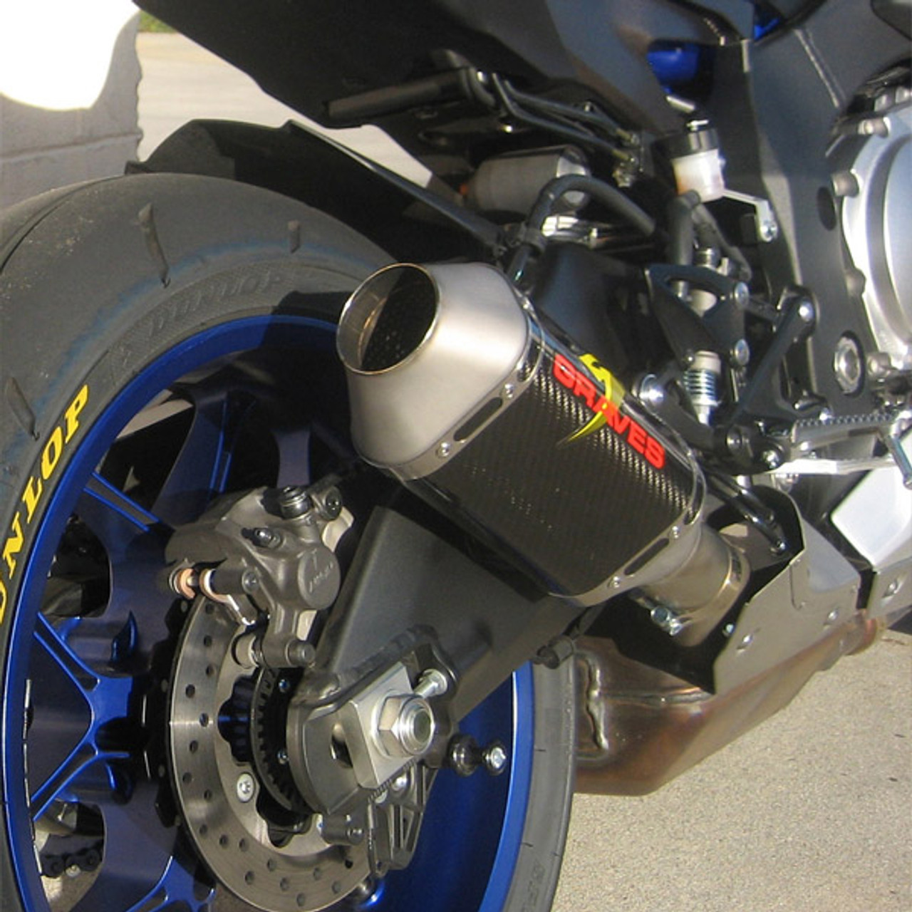 Graves Motorsports Yamaha Yzf R1 15 19 Carbon Cat Back Slip On Exhaust