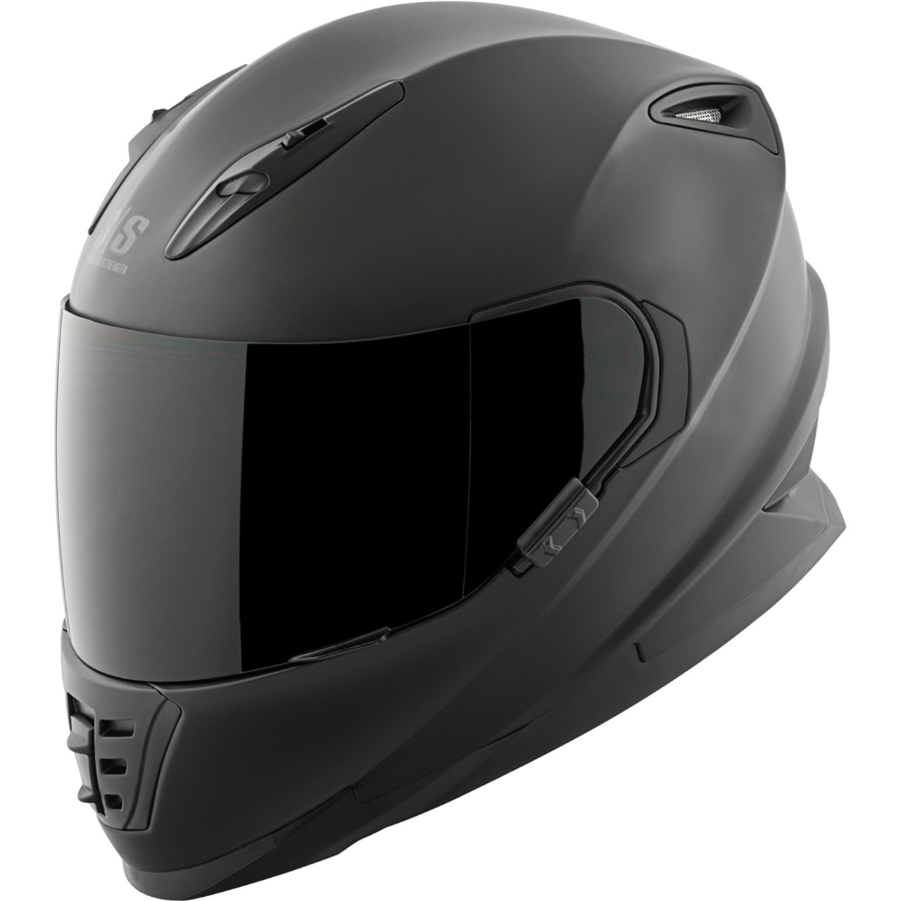 Speed and Strength SS1310 Black Heart Full Face Motorcycle Helmet All Sizes
