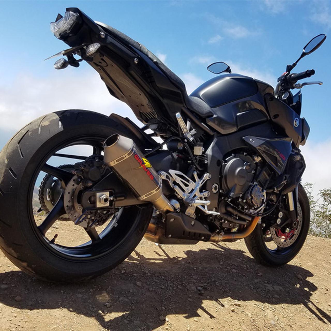 Graves Motorsports Yamaha FZ-10 / MT-10 17-18 Carbon Cat Back Slip-On  Exhaust