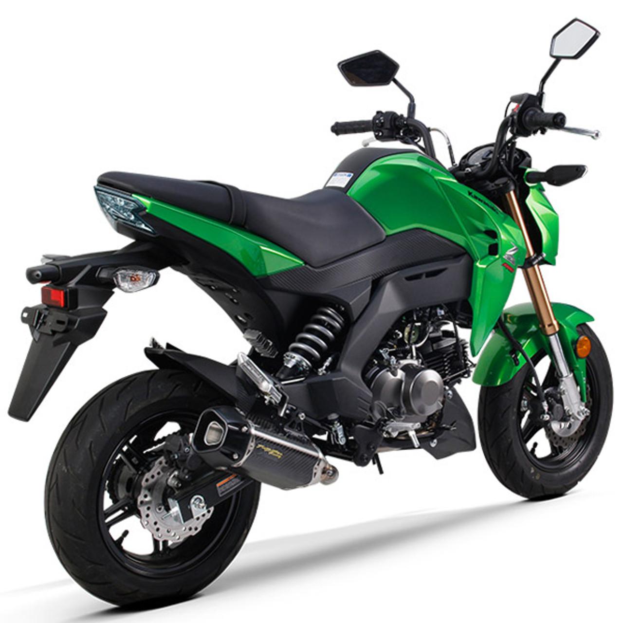 2017 Kawasaki Z125 Pro >> Two Brothers Kawasaki Z125 Pro 17 19 Tarmac Full Exhaust System