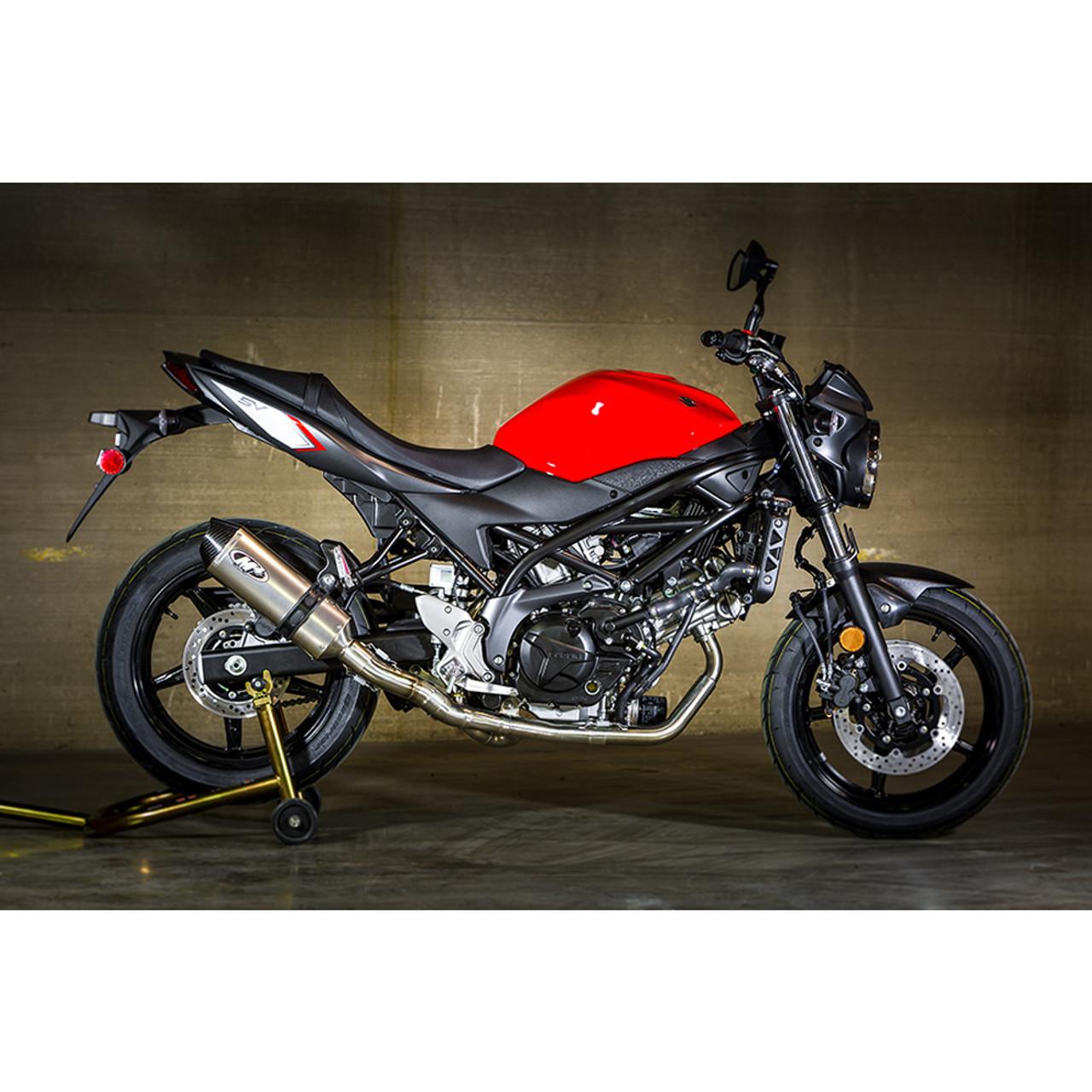 M4 Suzuki Sv650 2017 2020 Race Mount Full Exhaust System