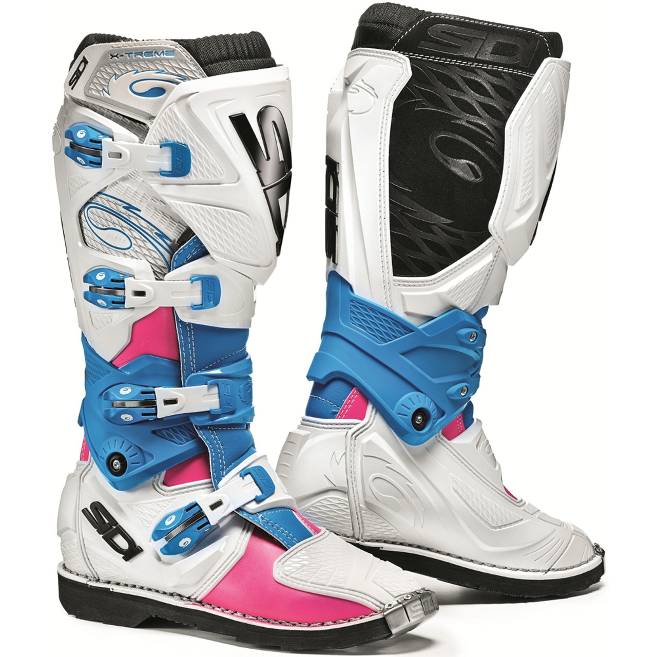 SIDI Gas Lei Riding Shoe Gray Pink