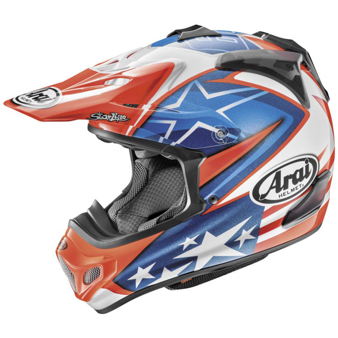 Arai Motocross VX-Pro 3 Helmets Visor Peak MULTI COLORS Off Road VX Pro 3