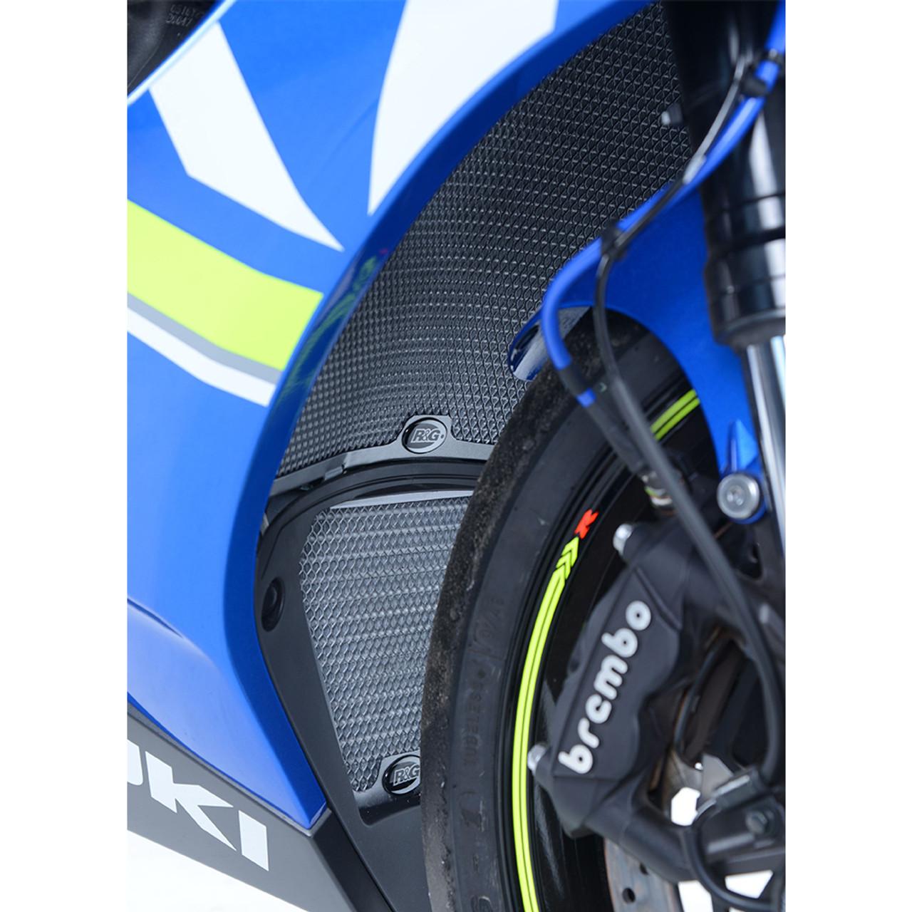 R&G Racing Suzuki GSX-R1000 17-19 Radiator & Oil Cooler Guard