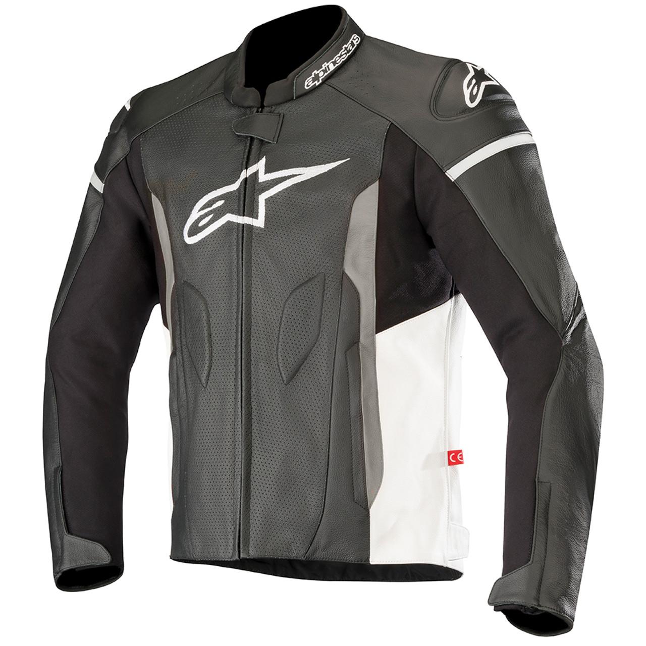 Alpinestars Leather Jacket >> Alpinestars Faster Airflow Leather Jacket Sportbike Track Gear