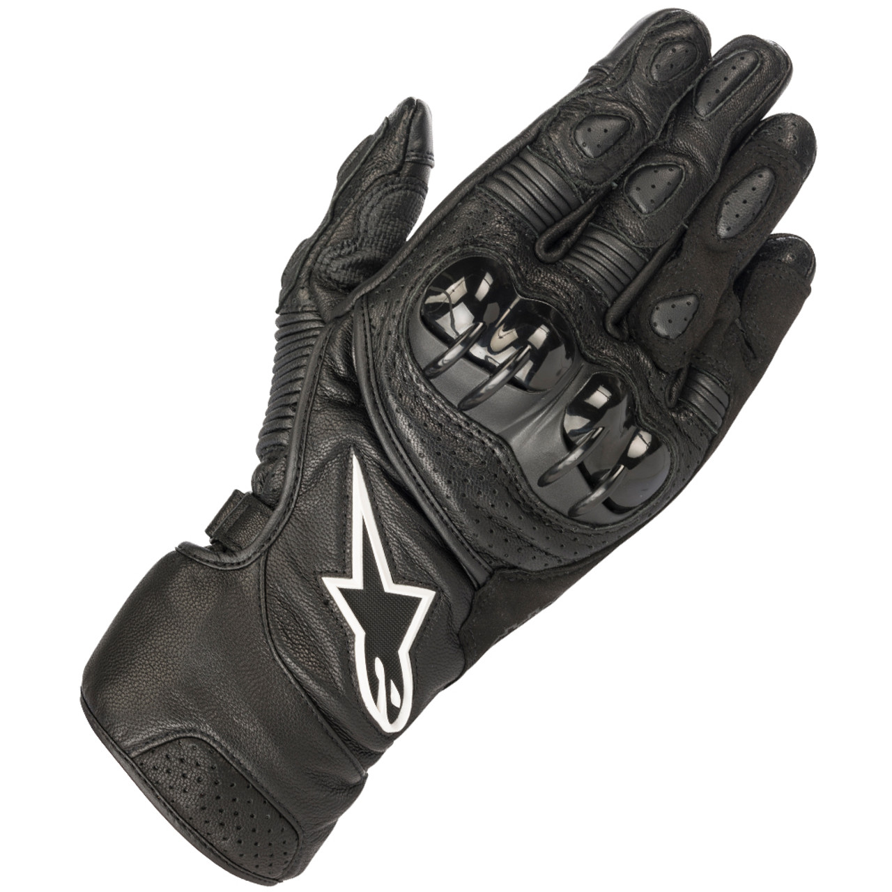 SIZE XL BLACK ALPINESTARS SP-2 SPORT TOURING MOTORCYCLE LEATHER GLOVES NEW
