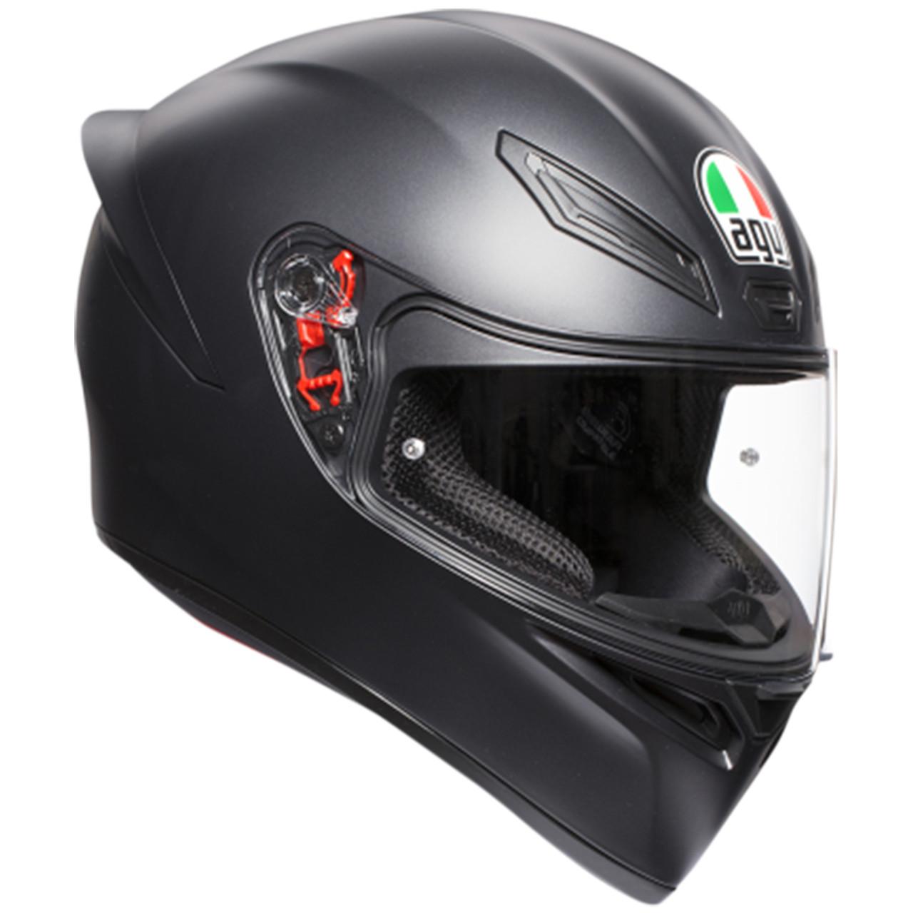 Agv K1 Solid Helmet Sportbike Track Gear