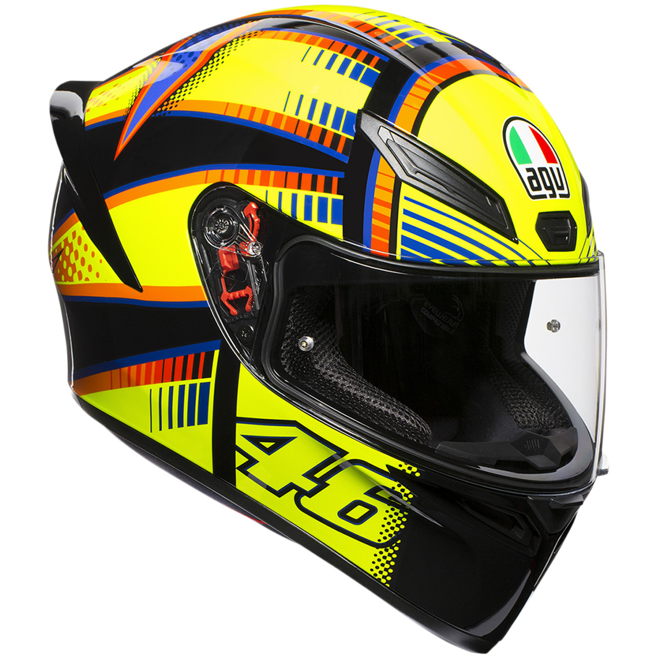 Agv K1 Soleluna 2015 Helmet Sportbike Track Gear