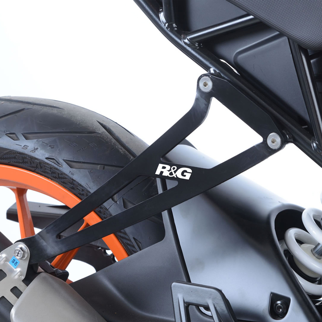 R&G Racing KTM RC390 17-18 Exhaust Hanger Kit