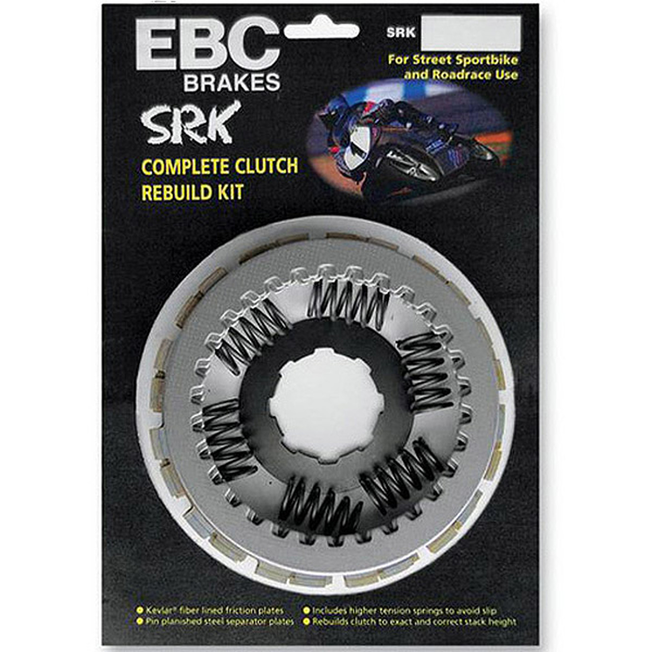 EBC Kawasaki ZX9R 98-03 SRK Race/Sport Series Clutch Kit