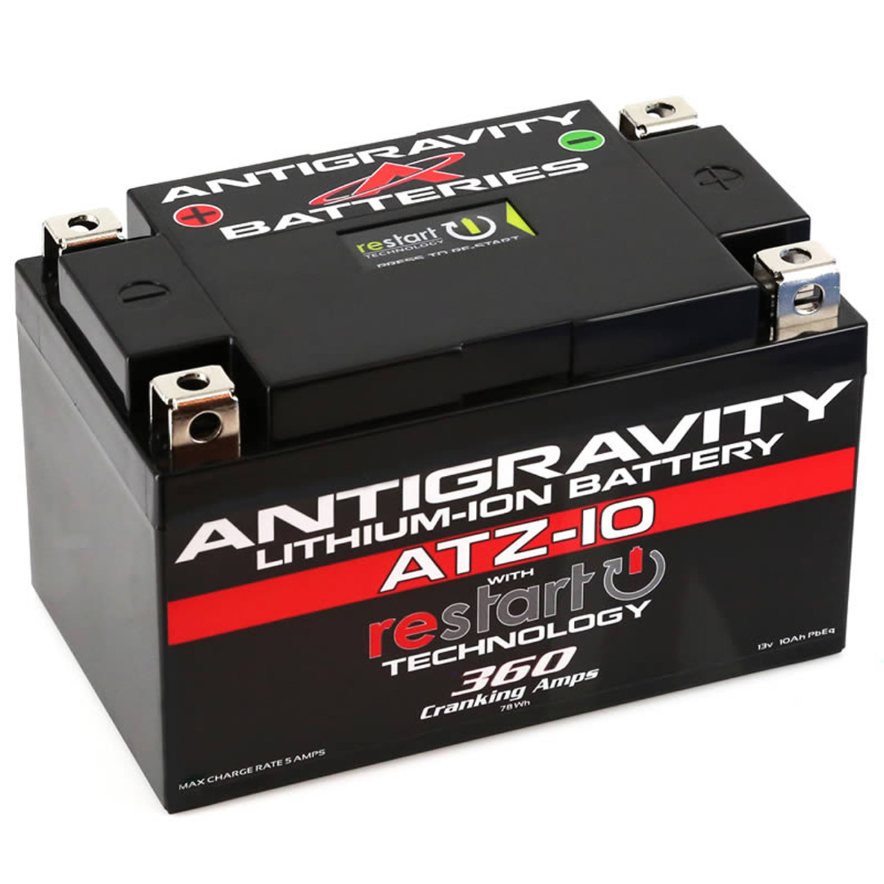 Antigravity Atz10 Kawasaki Ninja Zx6r 2009 2020 Lithium Ion Battery