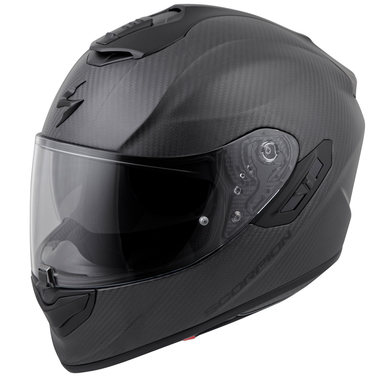 Carbon Fiber Motorcycle Helmets >> Scorpion Exo St1400 Carbon Solid Helmet