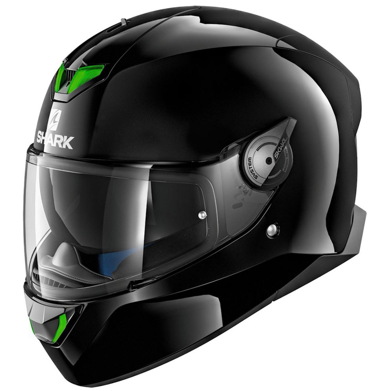 SHARK RIDILL BLANK Motorcycle Helmet Black Size S