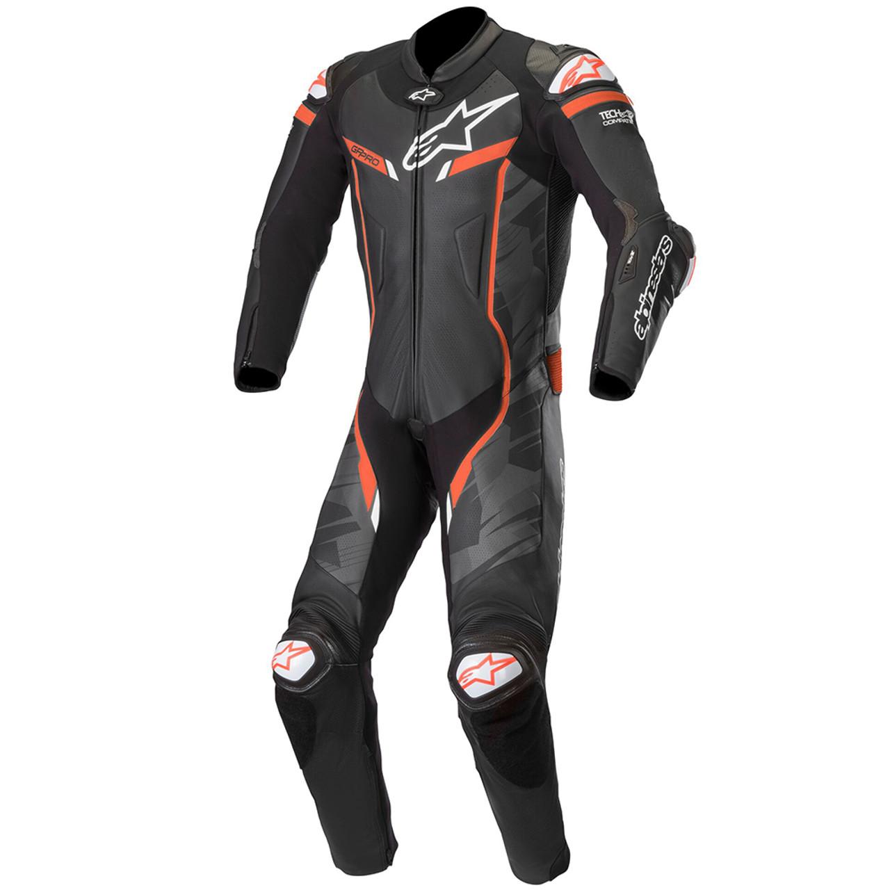 926b30626cb3f Alpinestars GP Pro V2 Leather Race Suit Tech-Air Race Compatible Black/Camo/