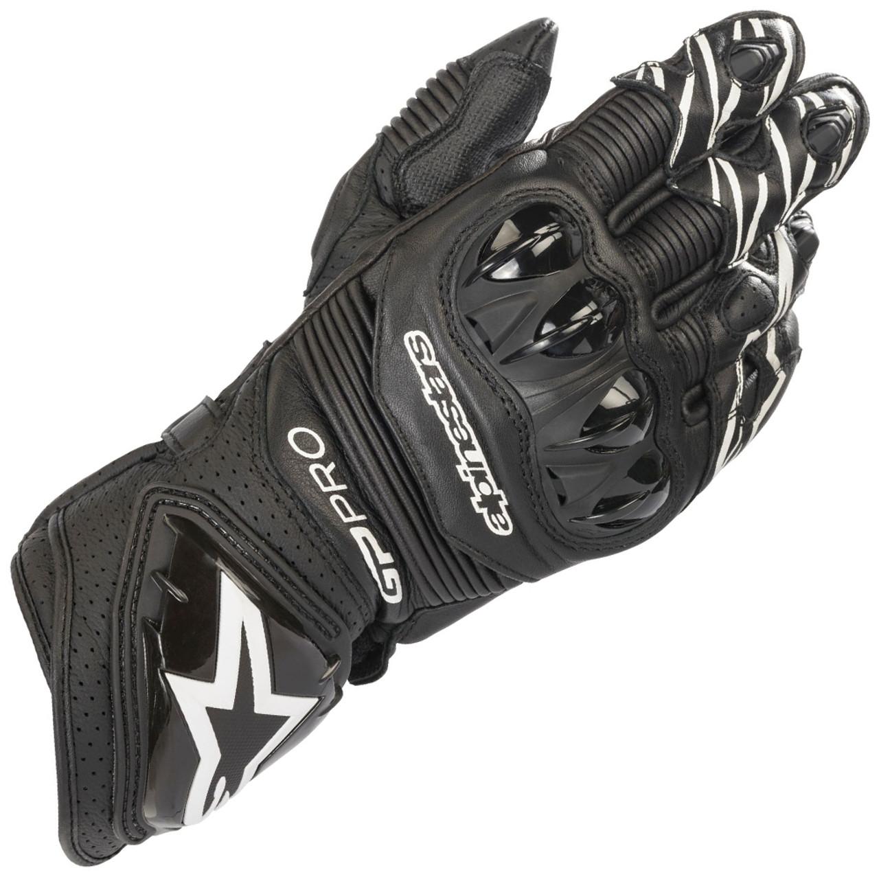 Alpinestars GP Pro R3 Gloves Size XXL Black Racing Motorcycle Gloves