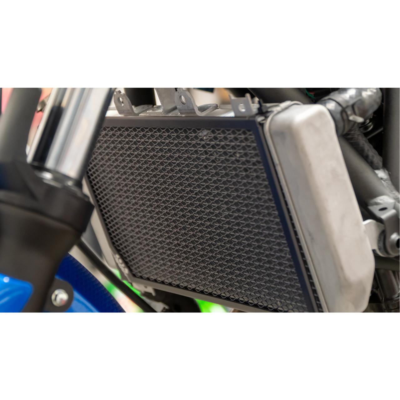 Broco Motorcycle Accessories Radiator Grille Guard Cover Protector for KAWASAKI NINJA 400 2018+